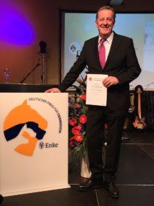 Dr. Thomas Göbel - Silber beim Deutschen Preis für Tiermedizin.