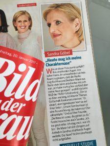 Sandra Göbel - Fotoshooting für Deutschlands größte Frauenzeitschrift