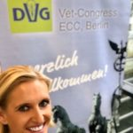 Sandra Göbe auf dem DVG Vet-Congress