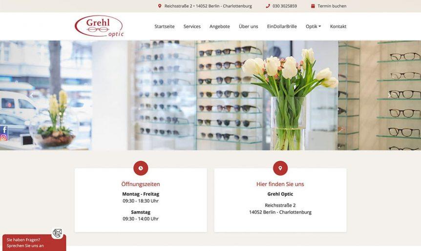 neue Website Optiker Grehl